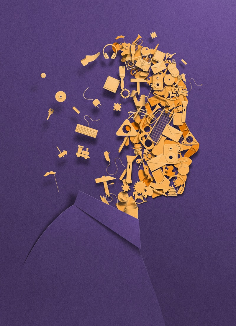 Eiko Ojala Papier Illustrationen