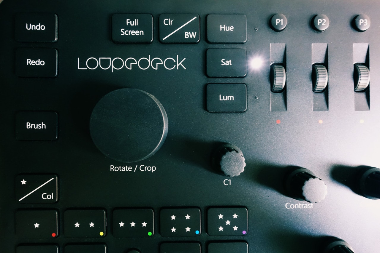 Loupedeck für Adobe Lightroom