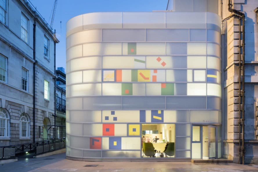 Maggie's Center by Steven Holl Architects