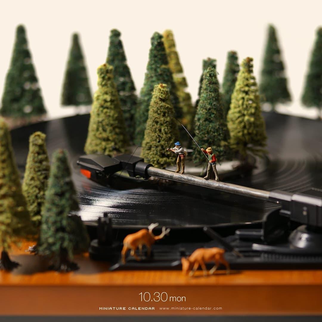 Tatsuya Tanaka Miniaturwelten