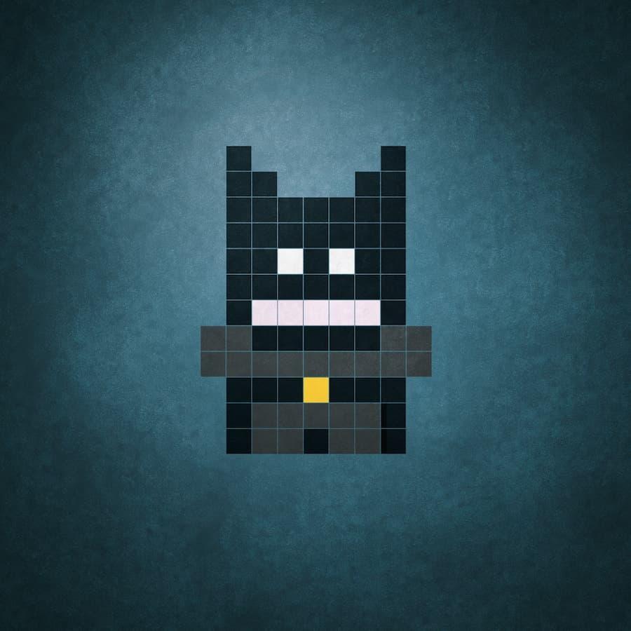 Tibo Pixel Heros Grafikdesign Superhelden