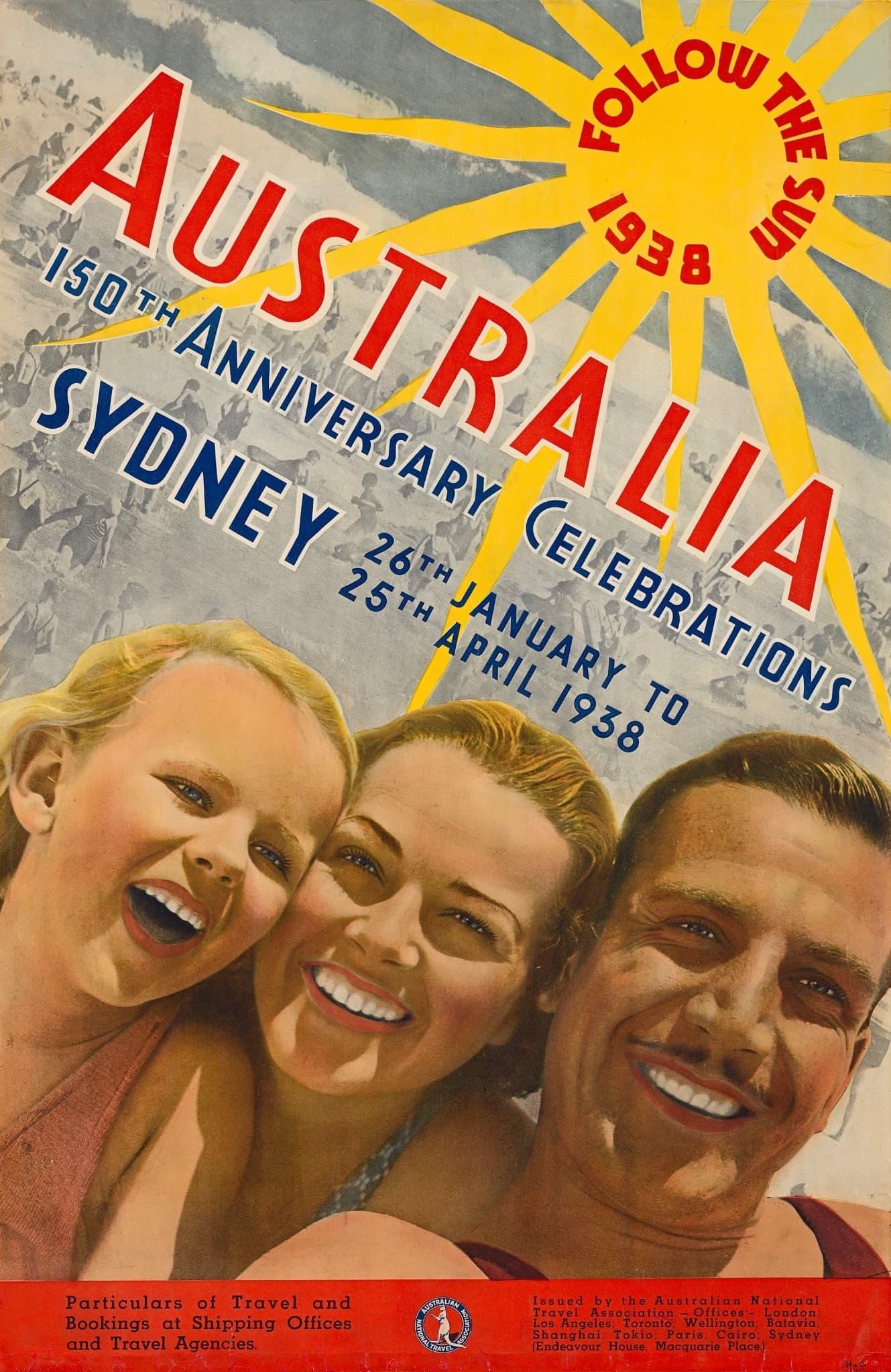 Poster Design Australien 1930s