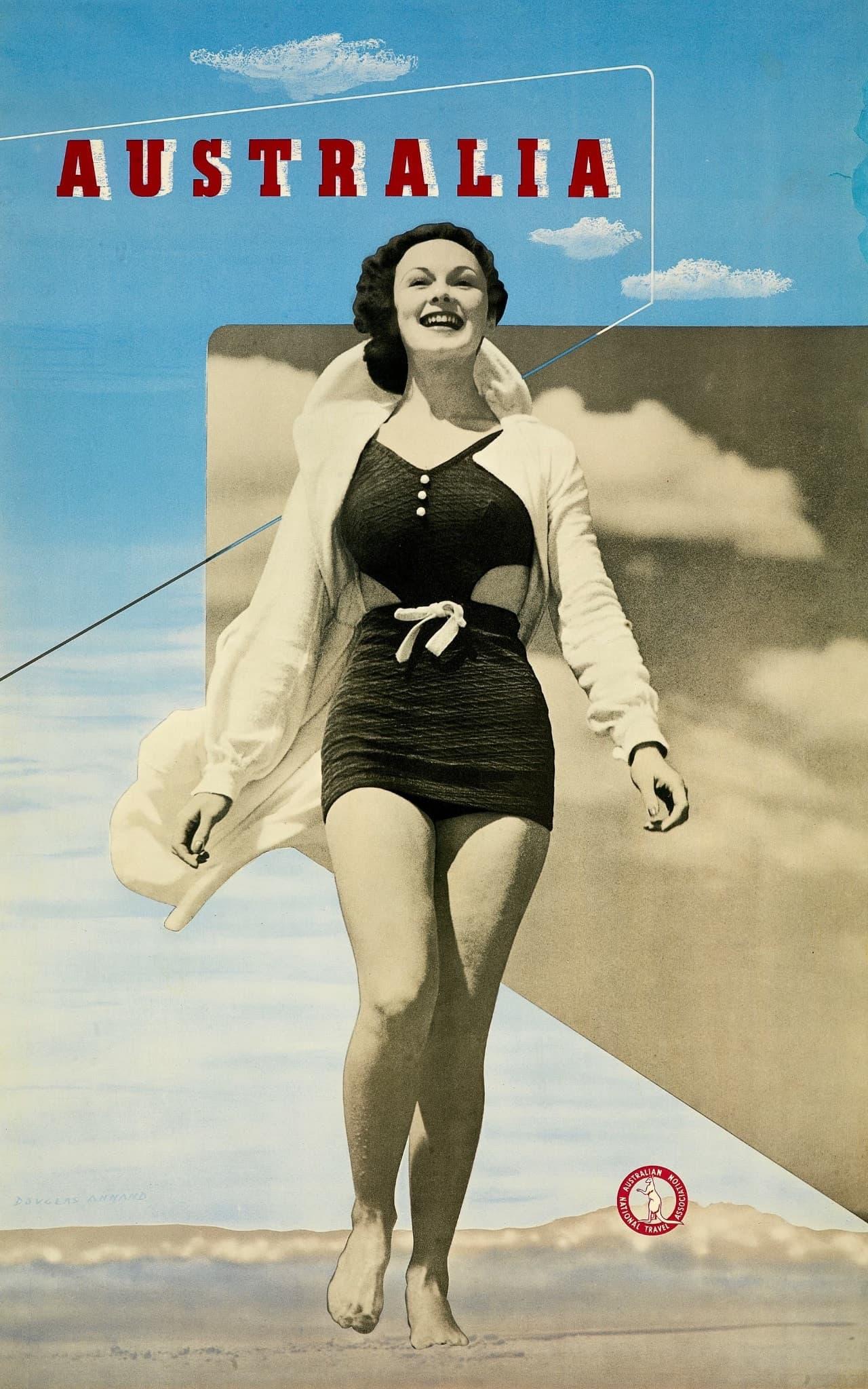 Plakat-Design Australien 1930er