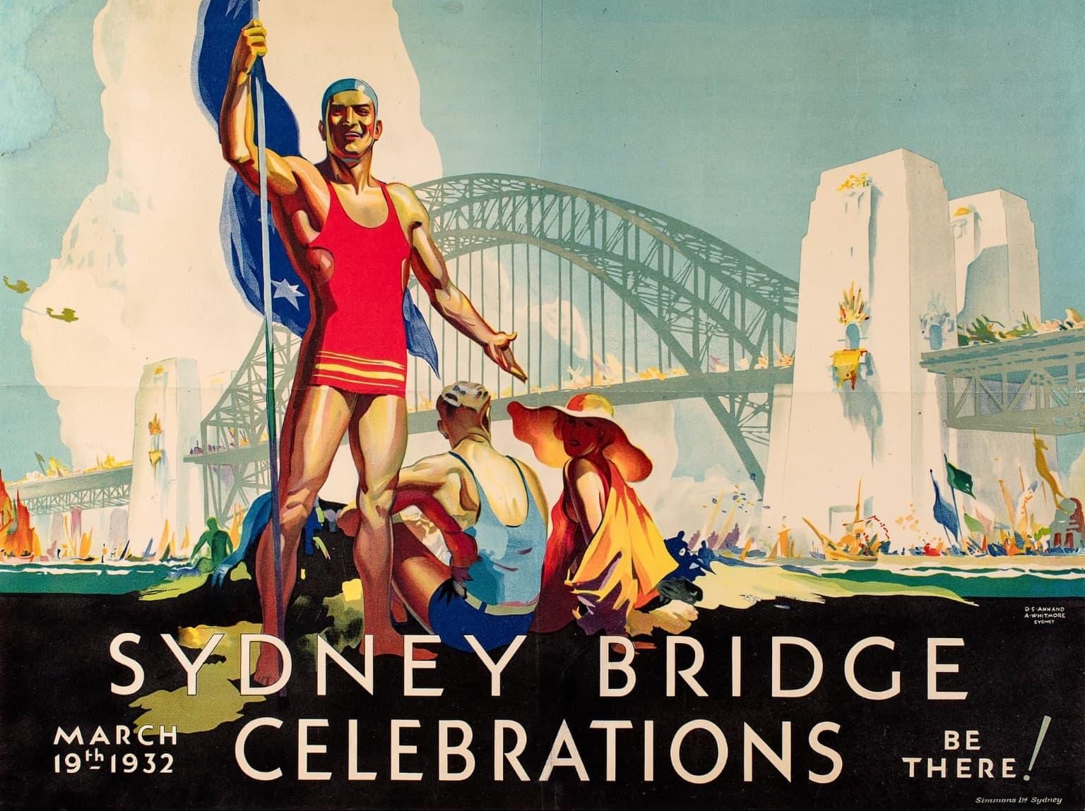 Plakat-Gestaltung Australien 1930er