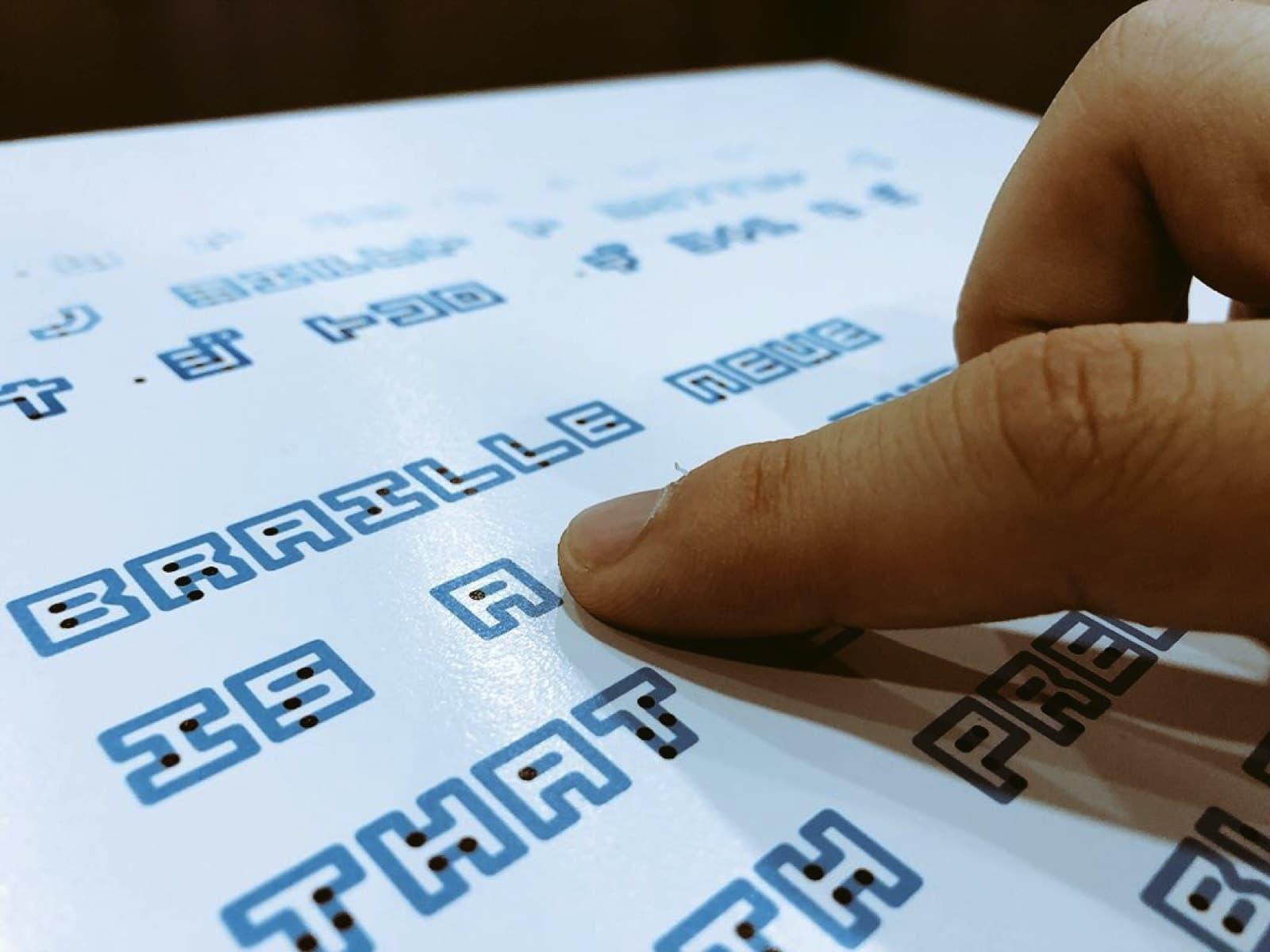 Takahashi - Braille Neue Typographie Design