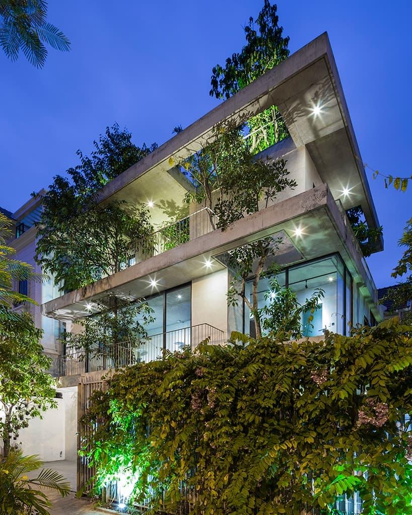 VTN Architects House For Trees Design
