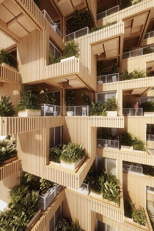 Penda Architects Tree Tower Design