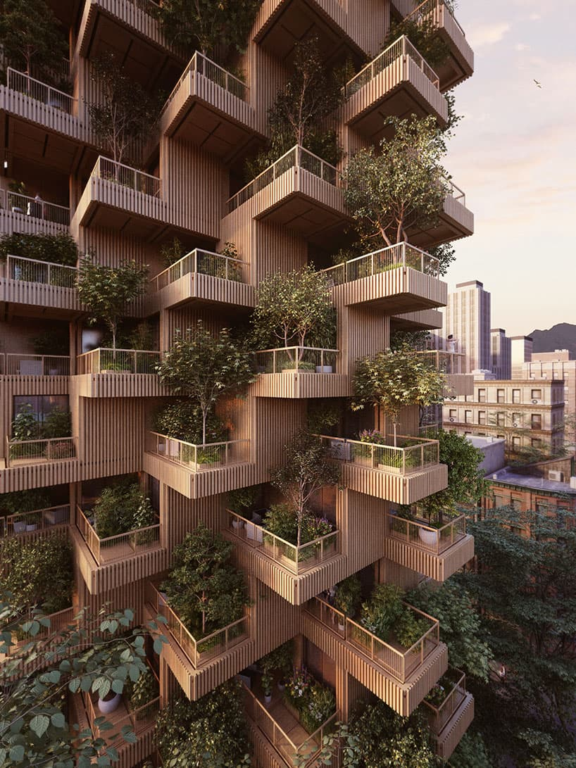Penda Architects Tree Tower Design