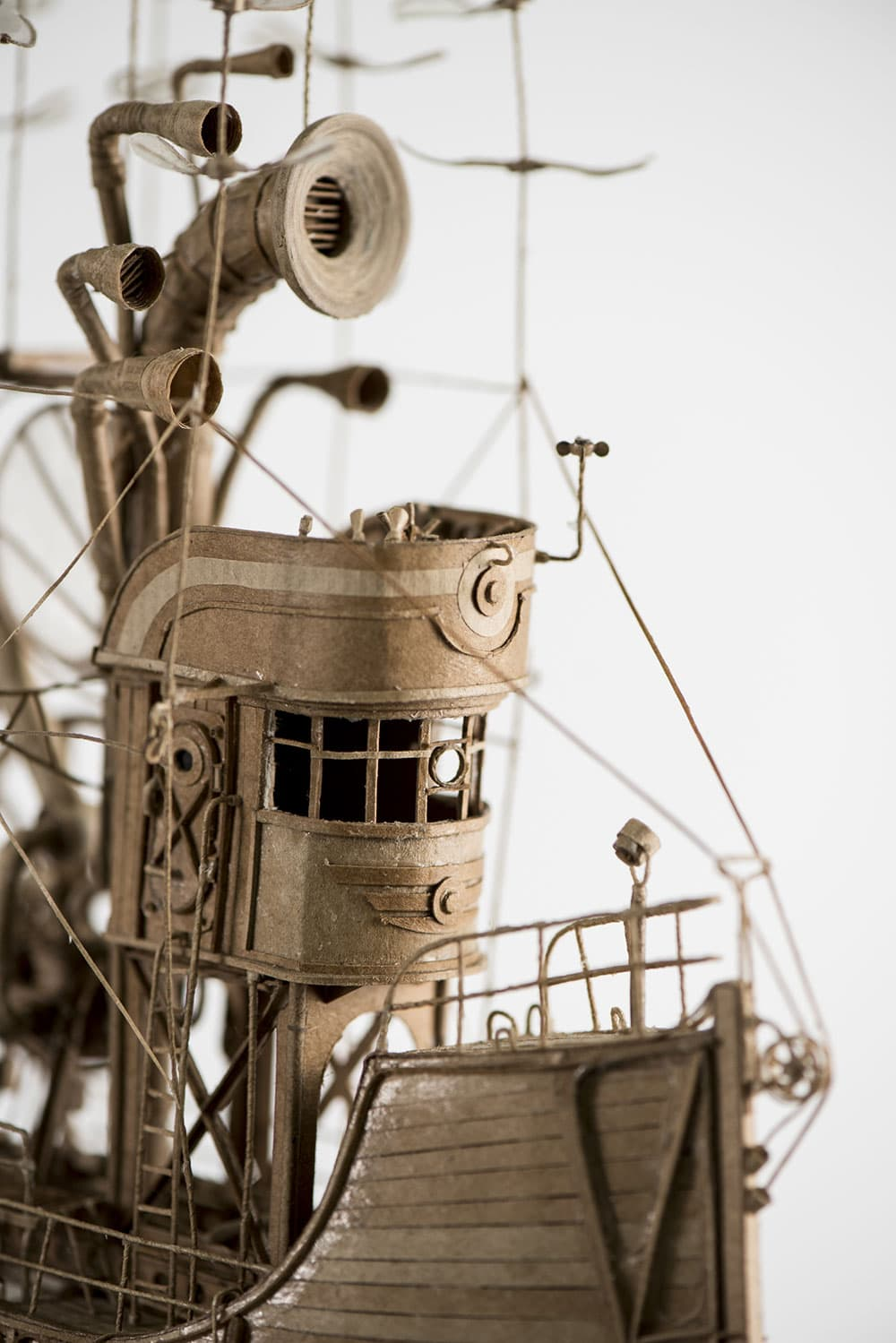 Jeroen van Kesteren Paper Ship Design