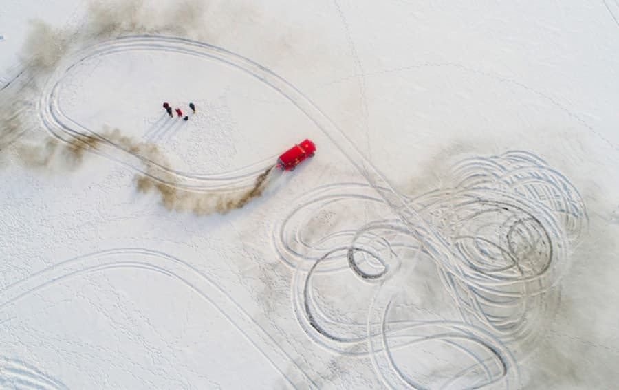 Drone photography award design