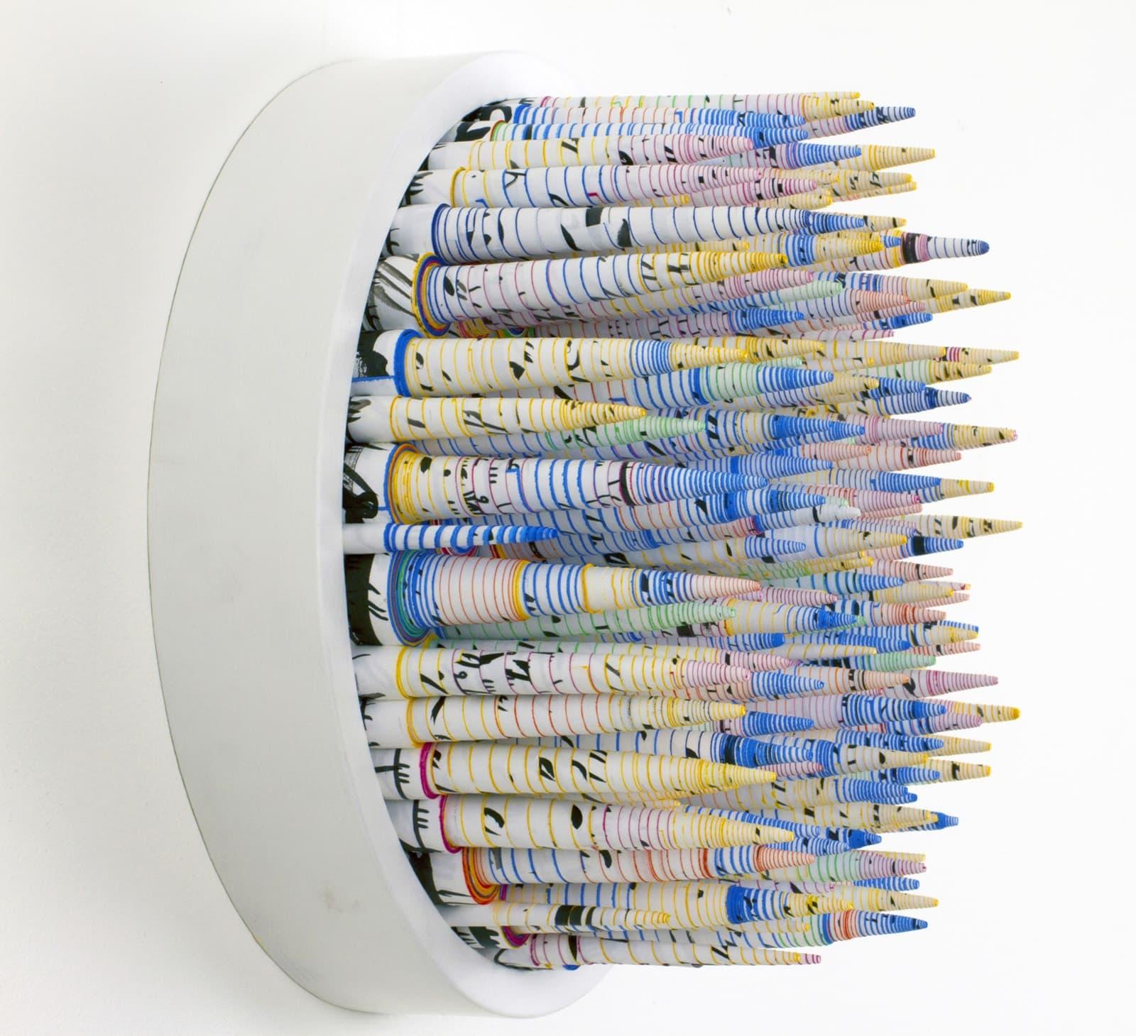 Hadieh Shafie paper sculptures design