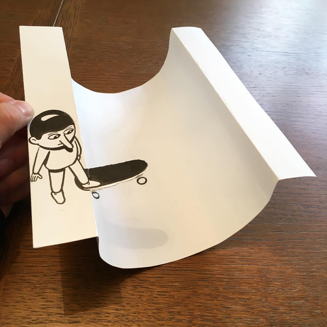 HuskMitNavn Paper Doodle Design