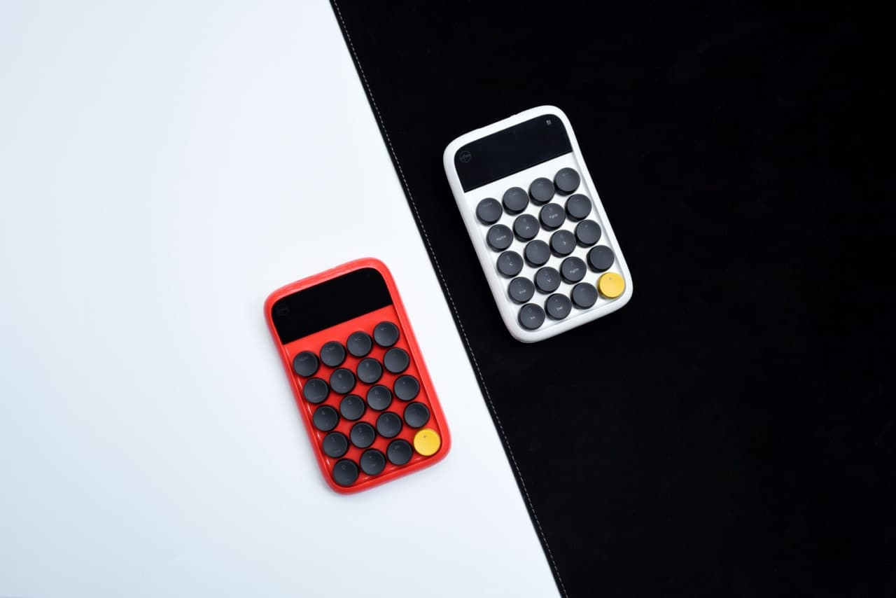 Lofree Digital Number Pad Design