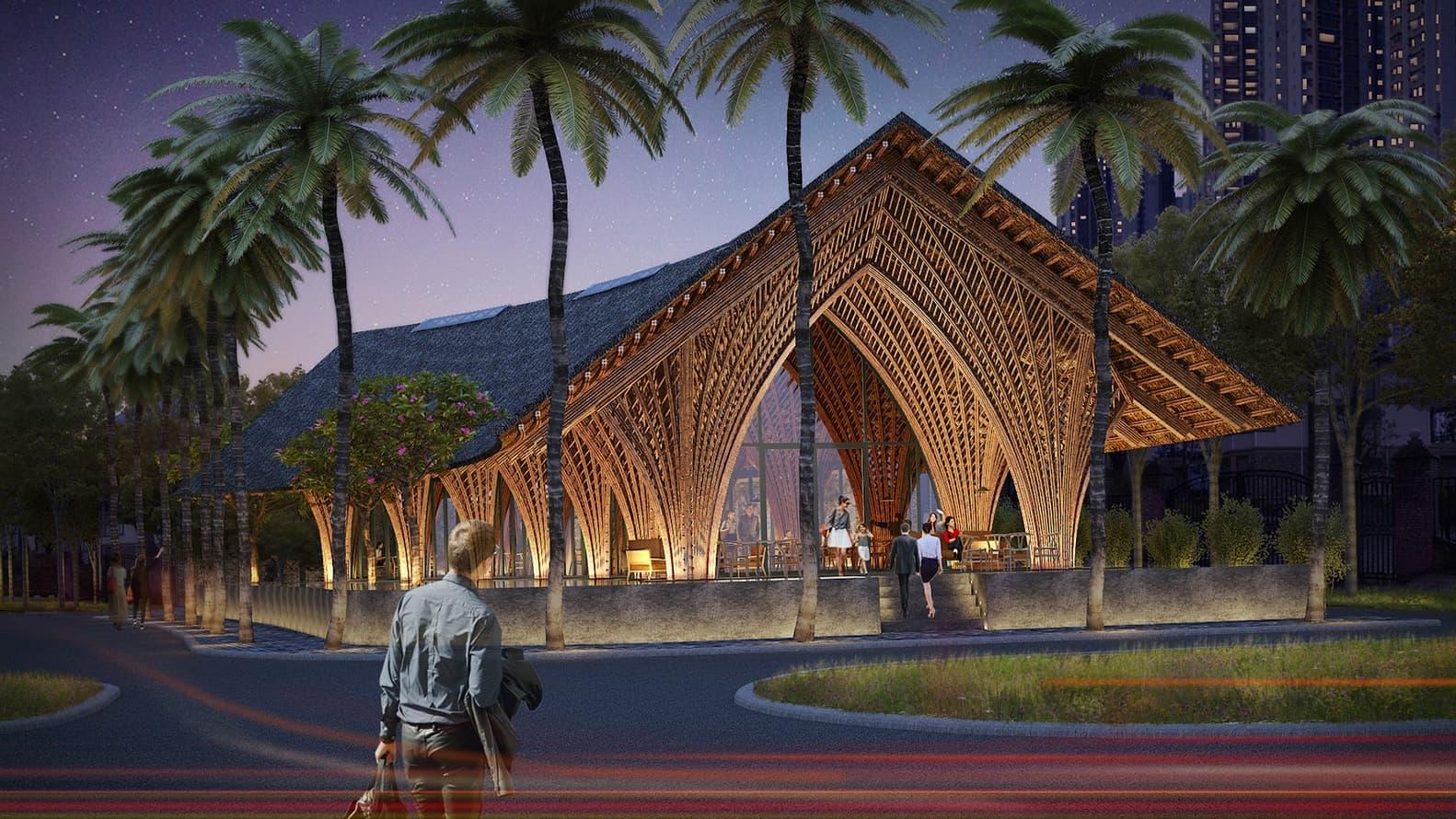 Ting Xi Bamboo Pavilion, China