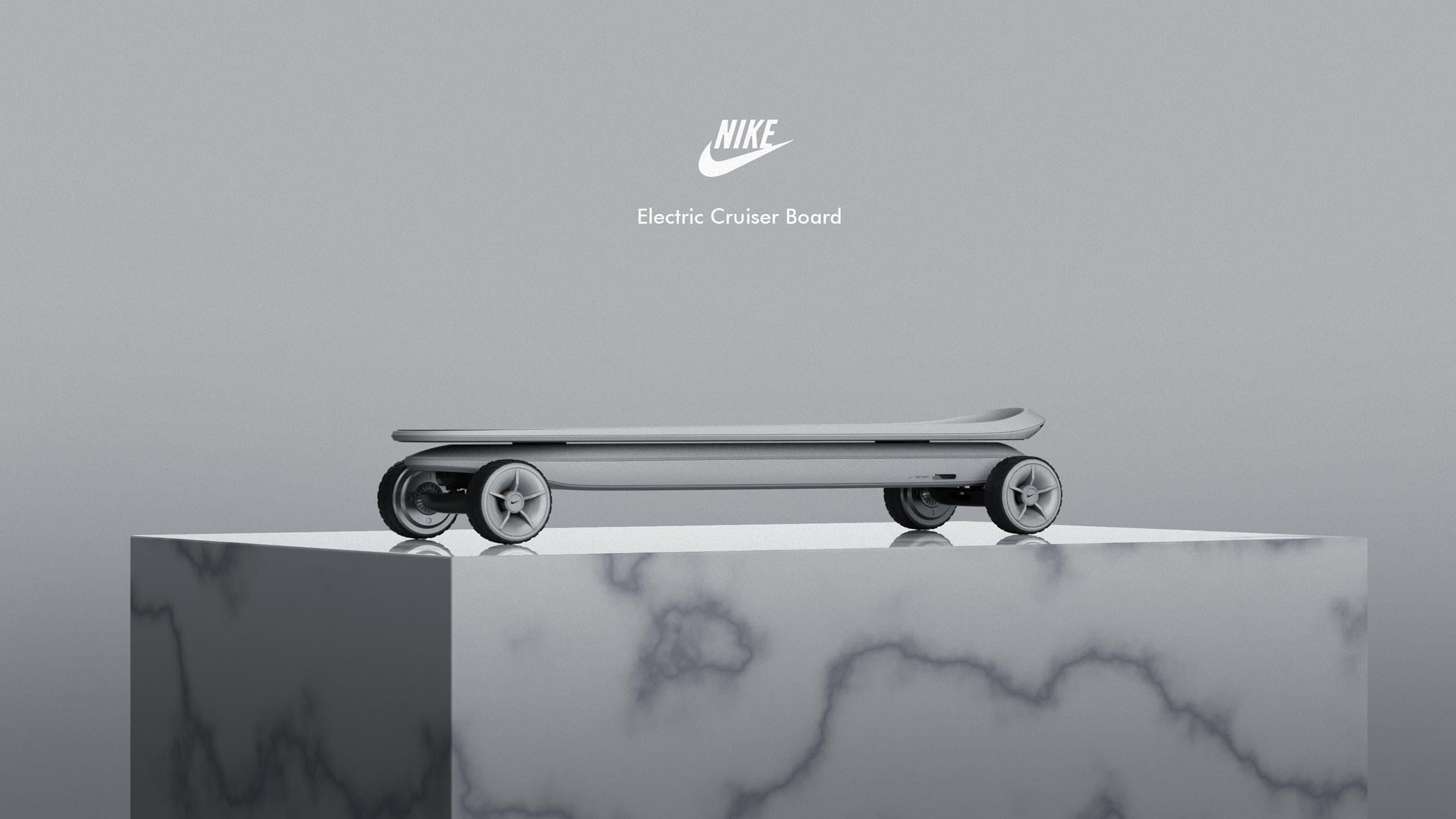 Jaehyuk Lim Nike Cruiser Board Design