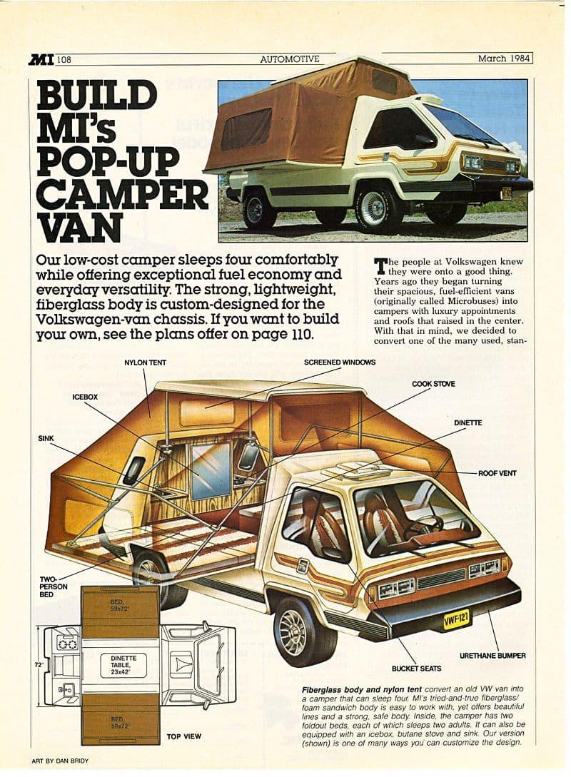 VW Phoenix Camper Van
