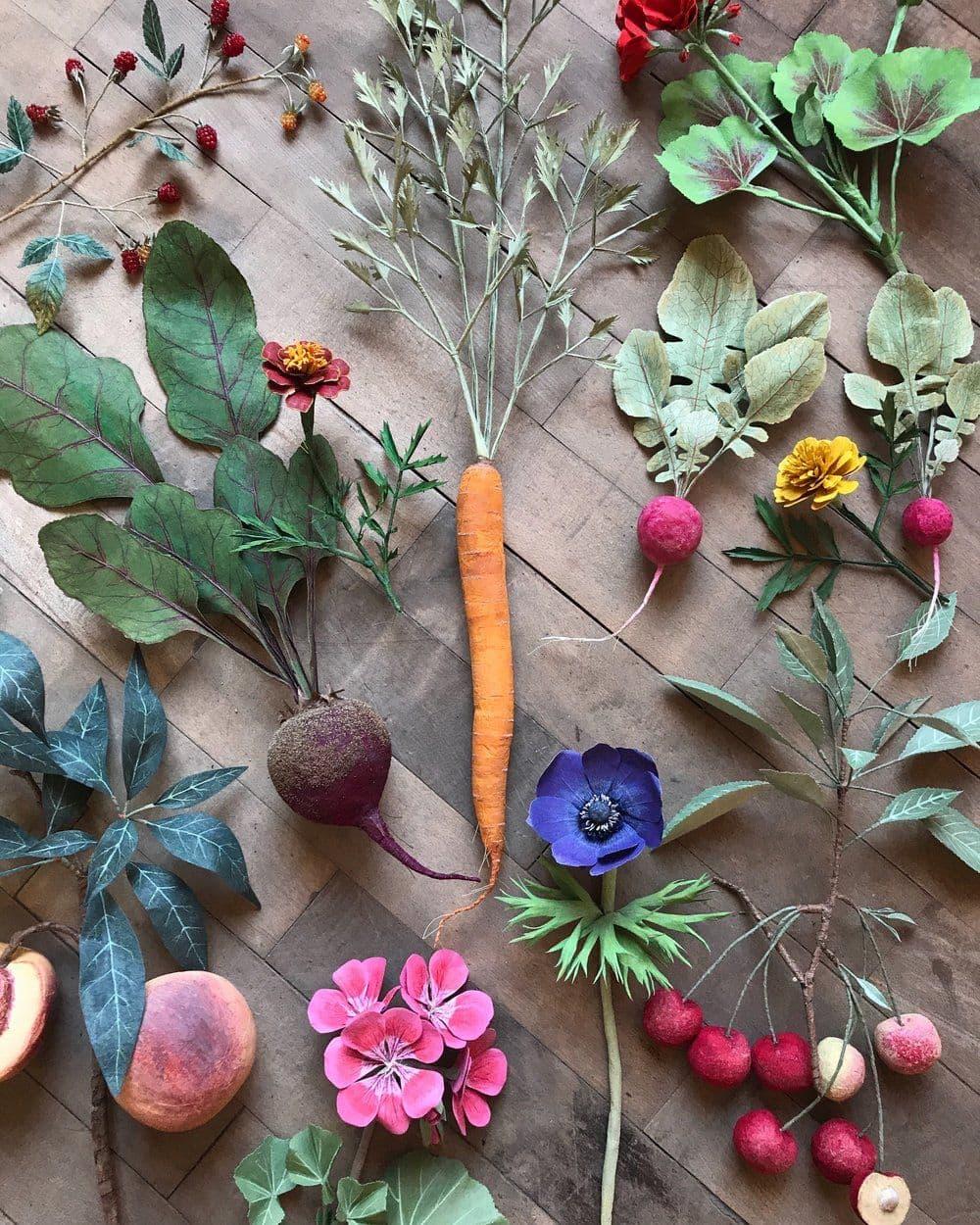 WoodLucker Früchte aus Papier Design