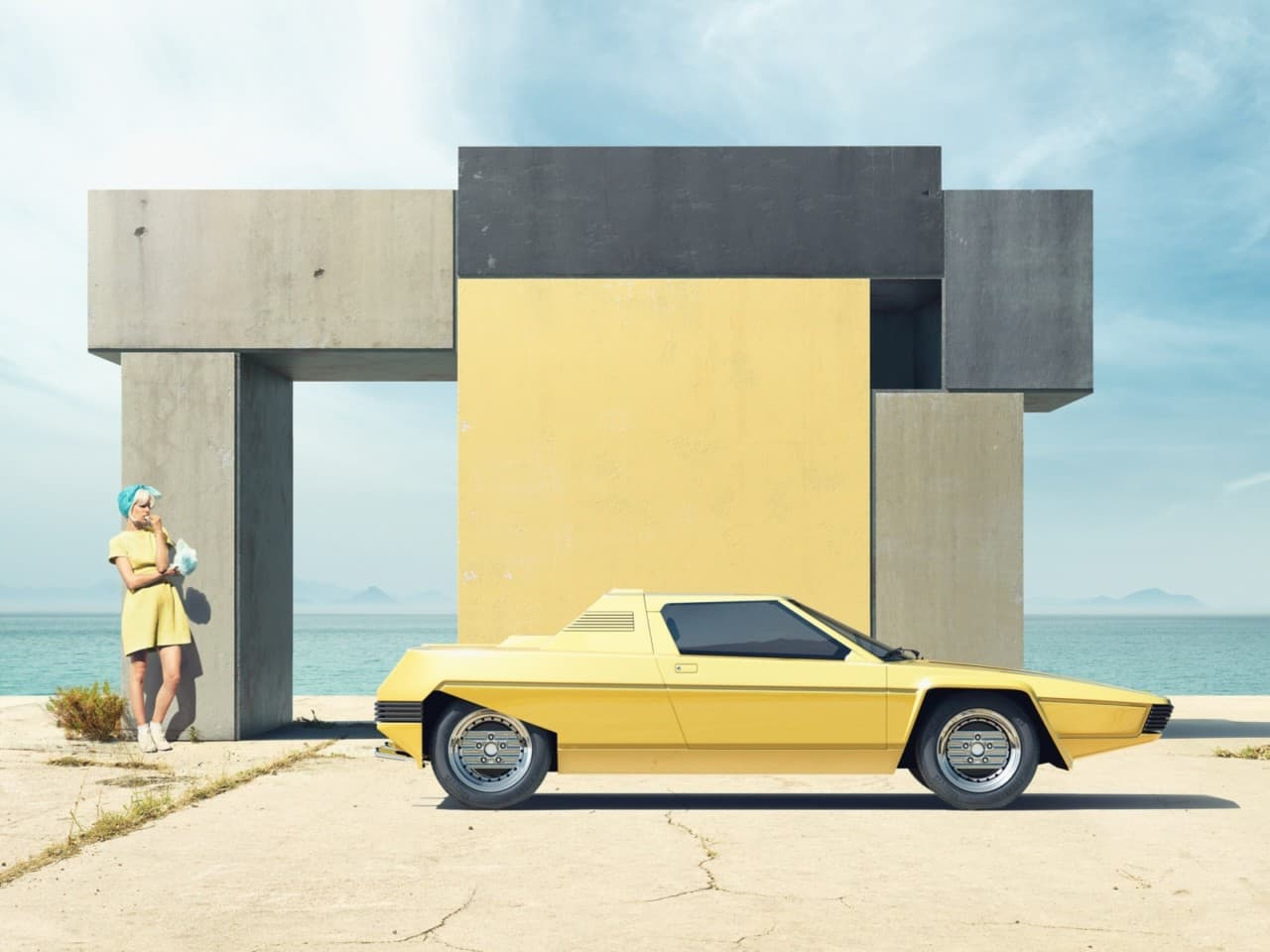 Ferrari Rainbow by Clemens Ascher