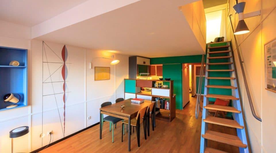 Le Corbusier Haus Berlin - Philip Mohr Innenraum Design