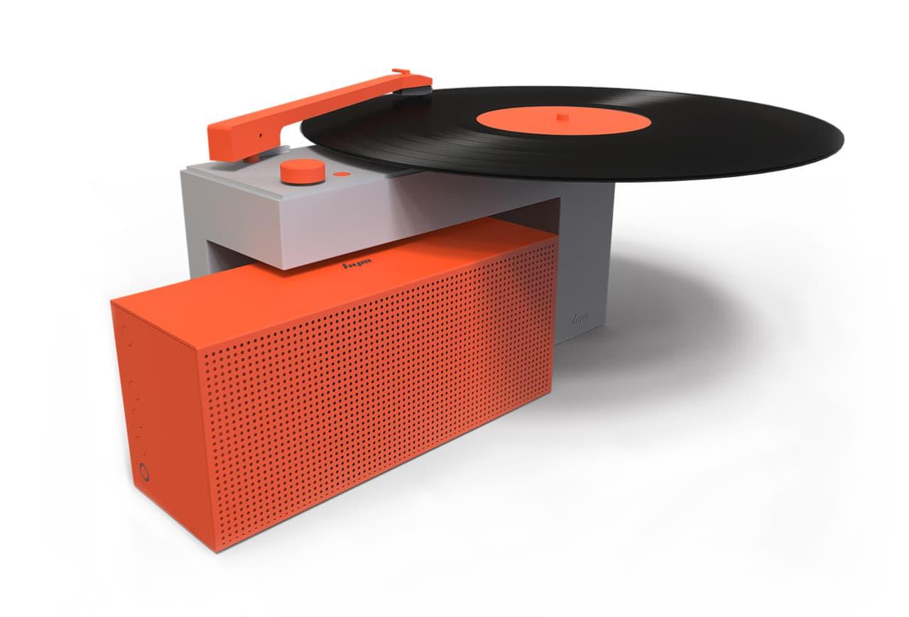 HYM Seed Duo Plattenspieler Design