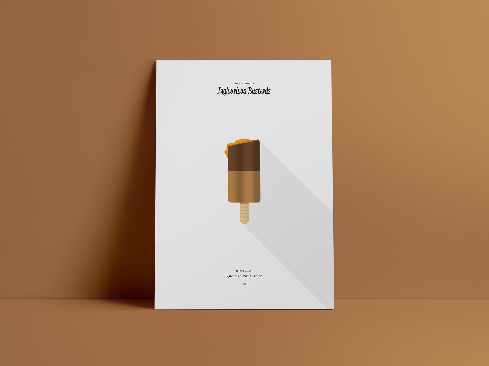 Tarantino Icecream Poster Design