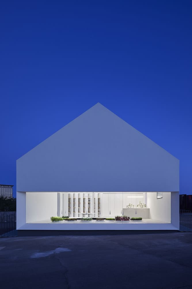 e-Vege House von Yang Design