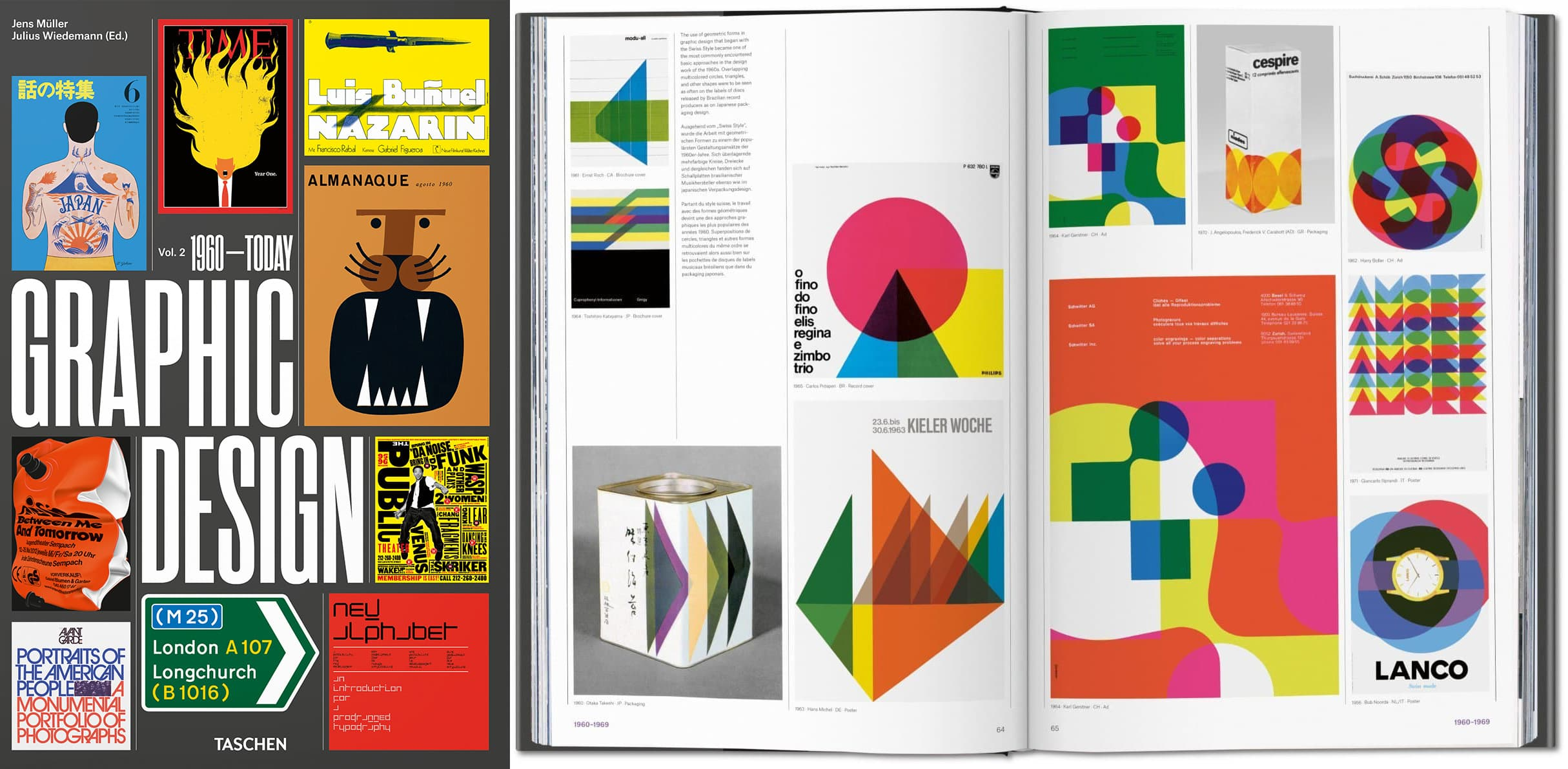 TASCHEN - Geschichte des Grafikdesigns 1960 bis heute
