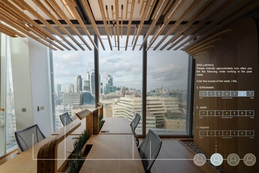 Living Lab at The Shard - Biophiles Design