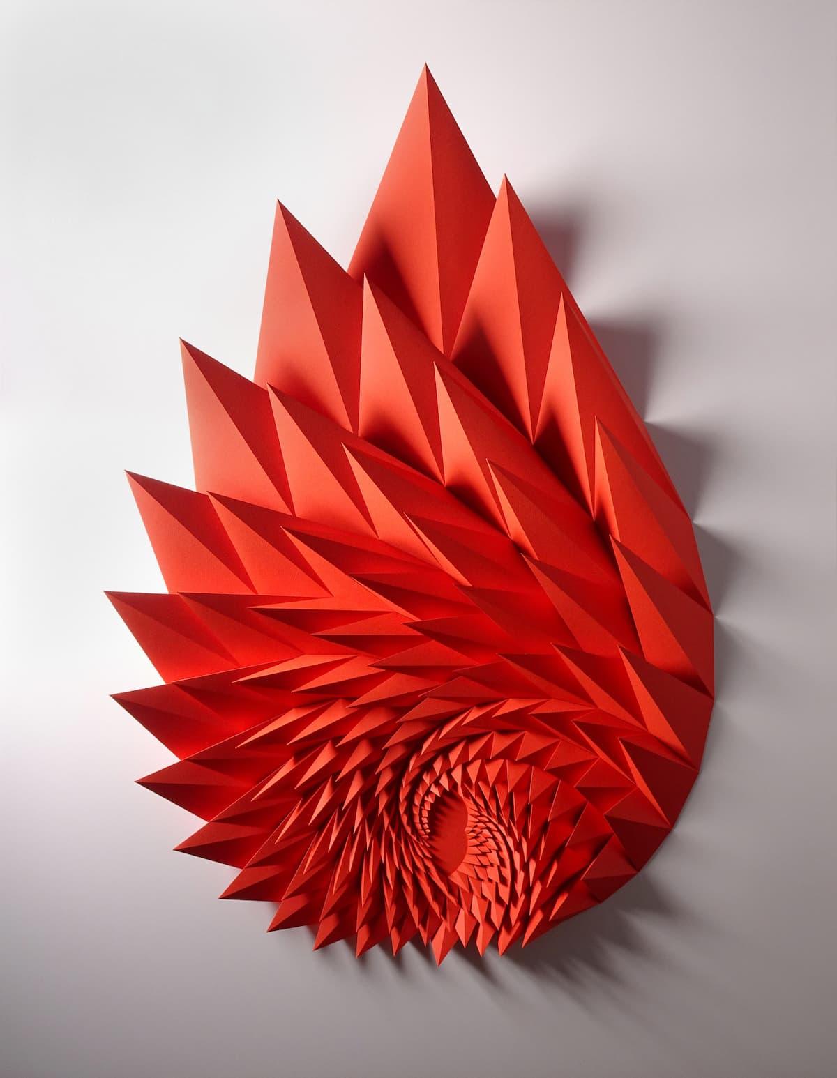 Matthew Shlian Papierskulturen Design