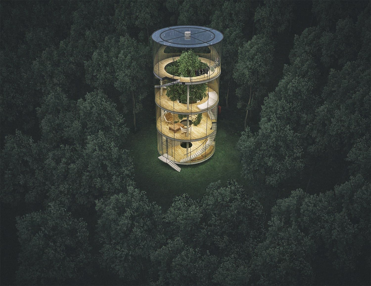 Aibek Amasov Treehouse Design