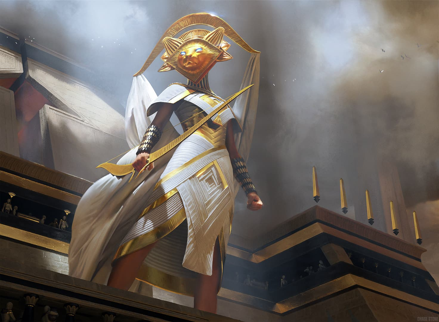 Chase Stone - Amonkhet Illustration Design