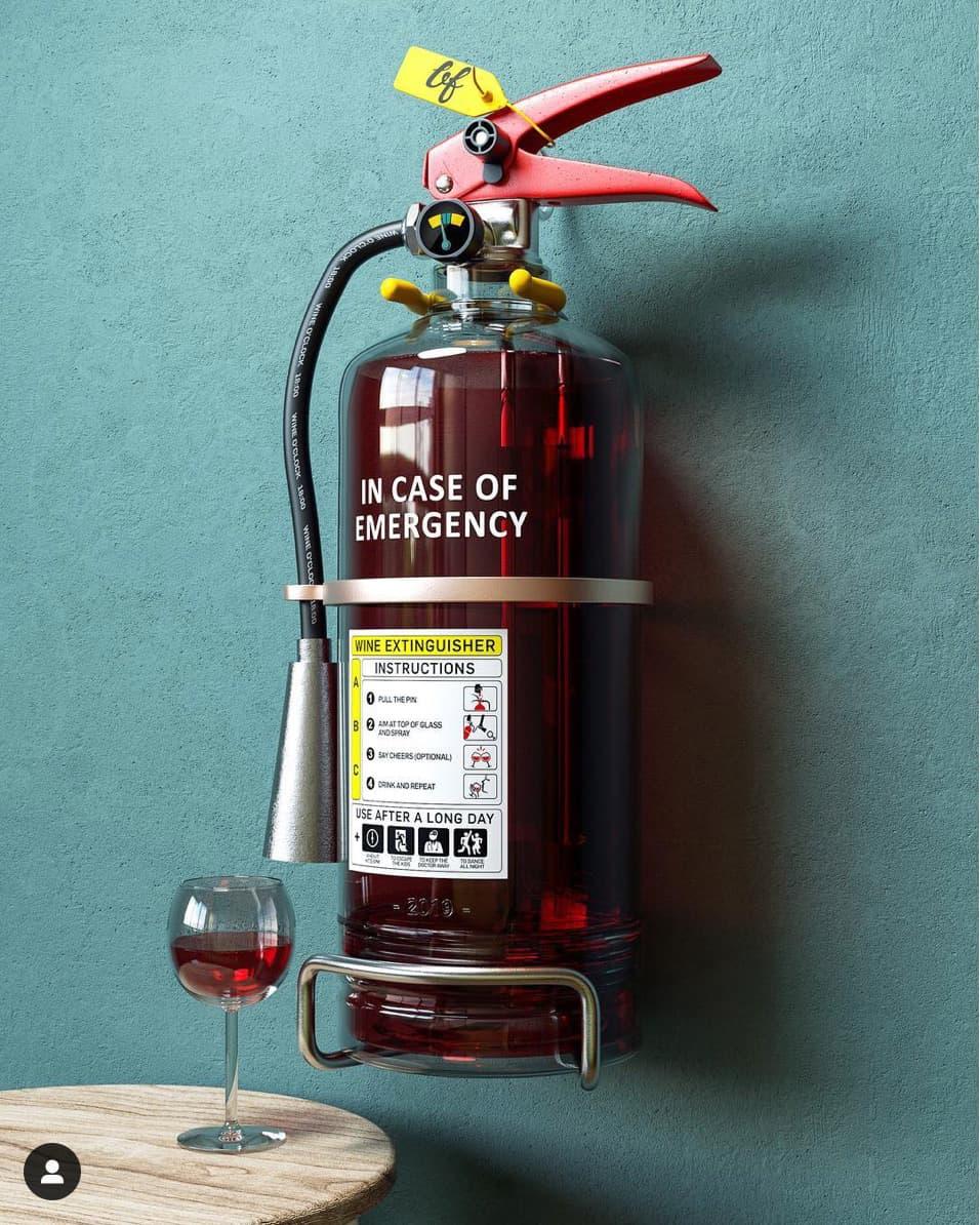 Ben Fearnley - Wine Extinguisher