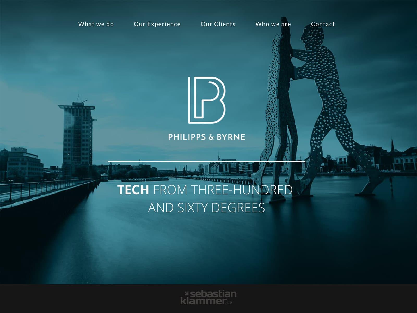 Webdesign Philipps&Byrne
