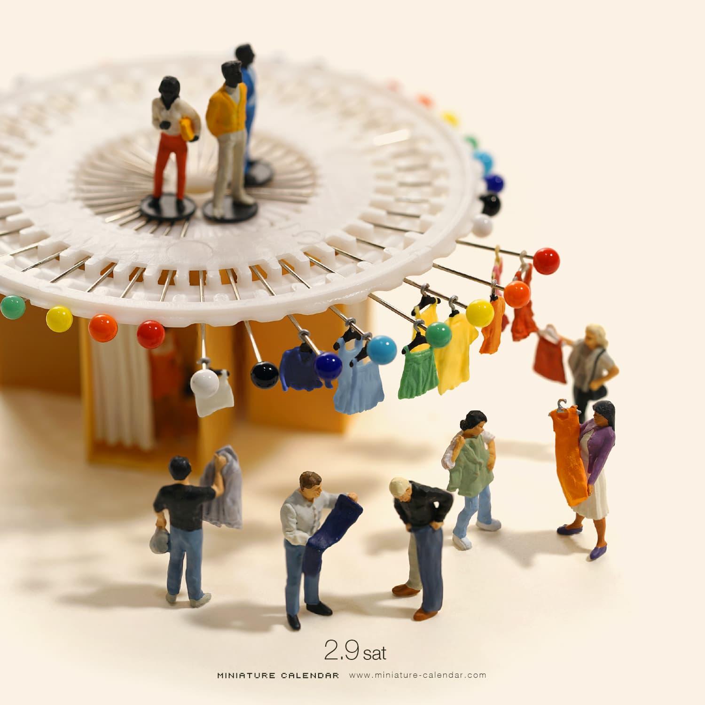 Tatsuya Tanaka Miniature Calendar