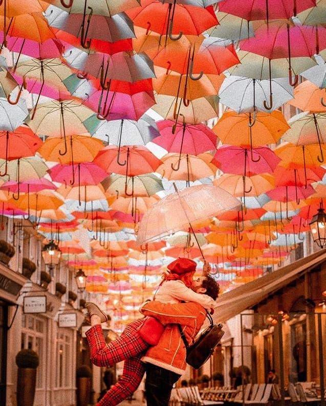 Umbrella Sky von Swann & The Berries (@swannandtheberries)