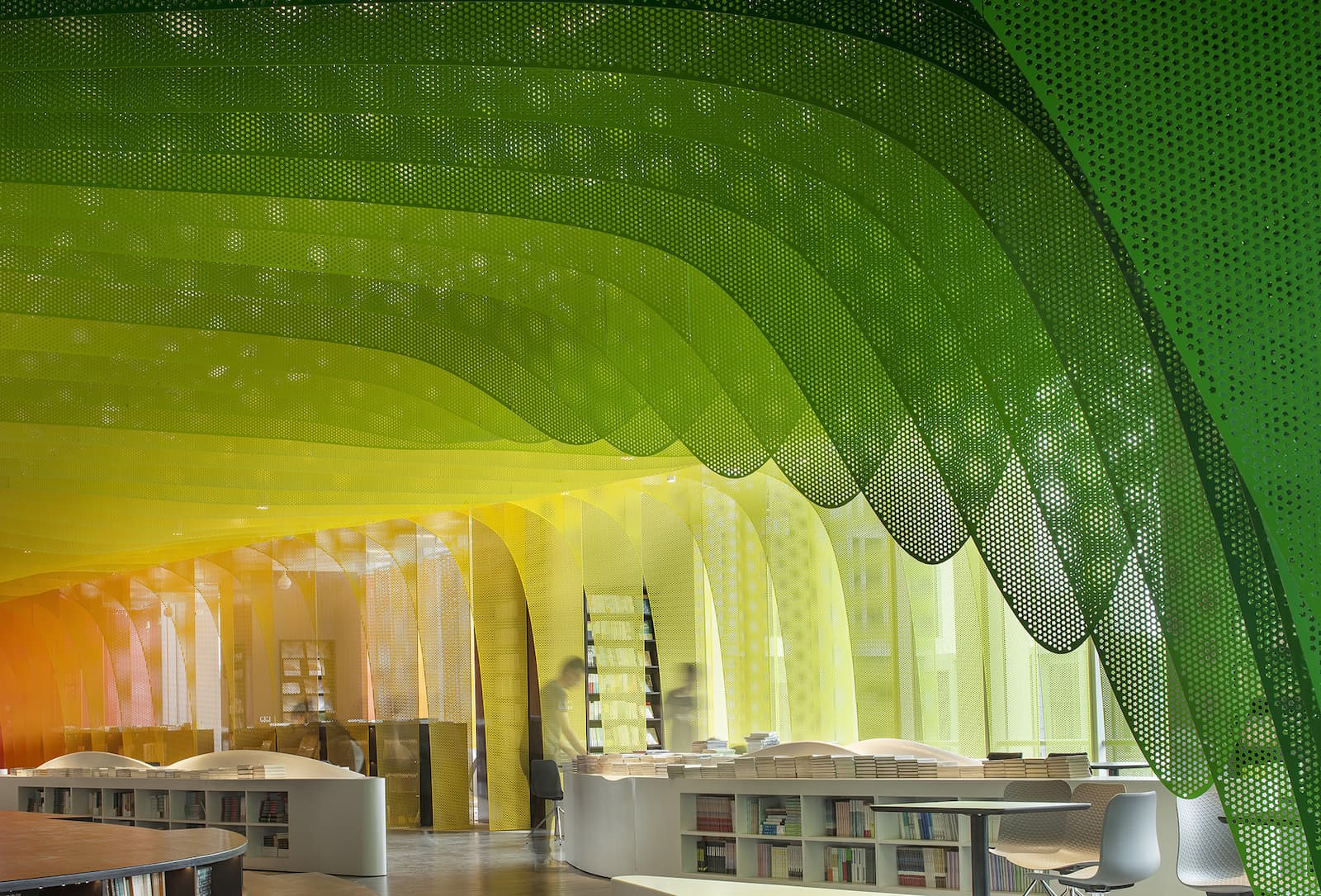 WUtopia Architektur Xanadu of Rainbows Design