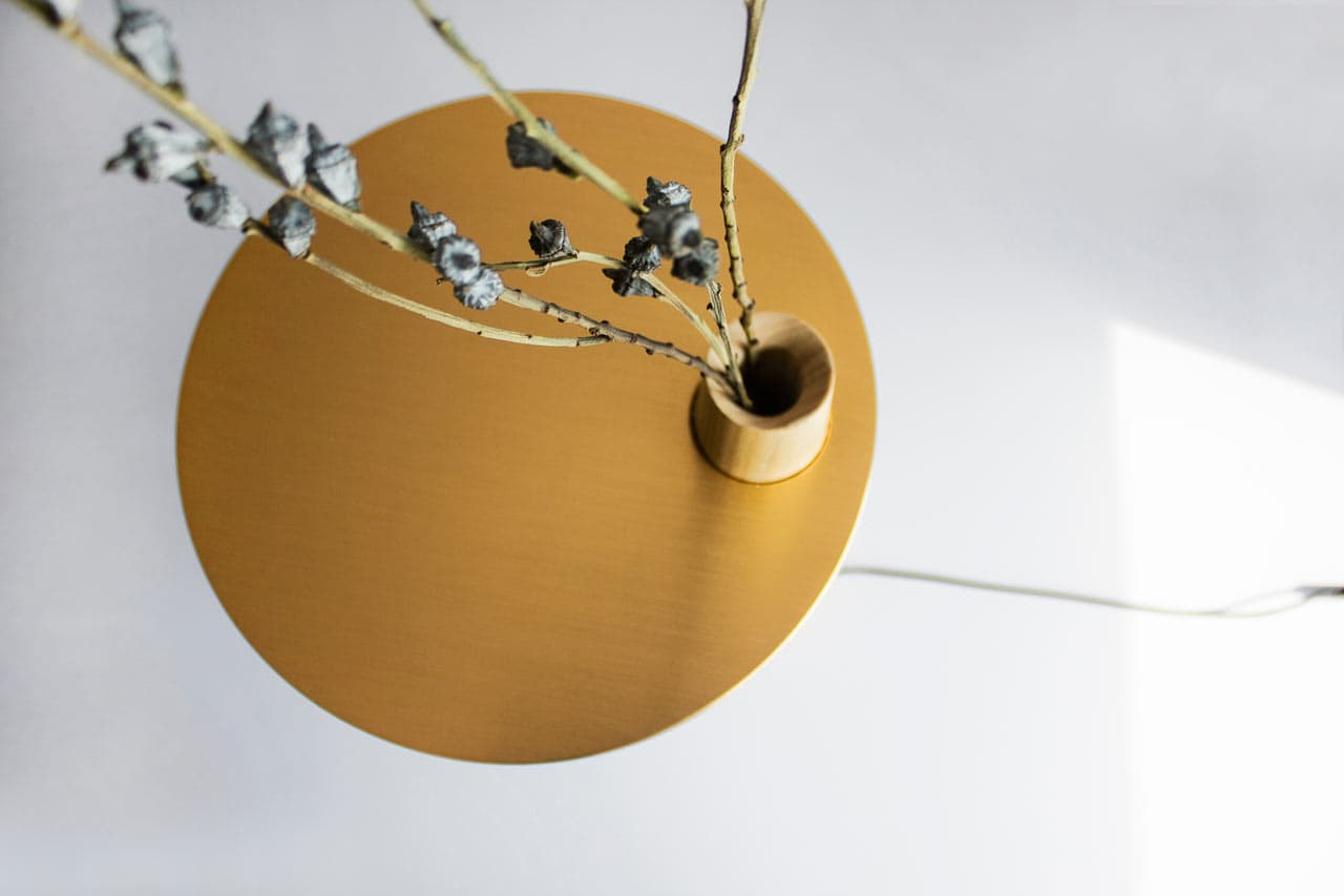 Pushe Design Studio - Subtle Happiness Table Lamp Design
