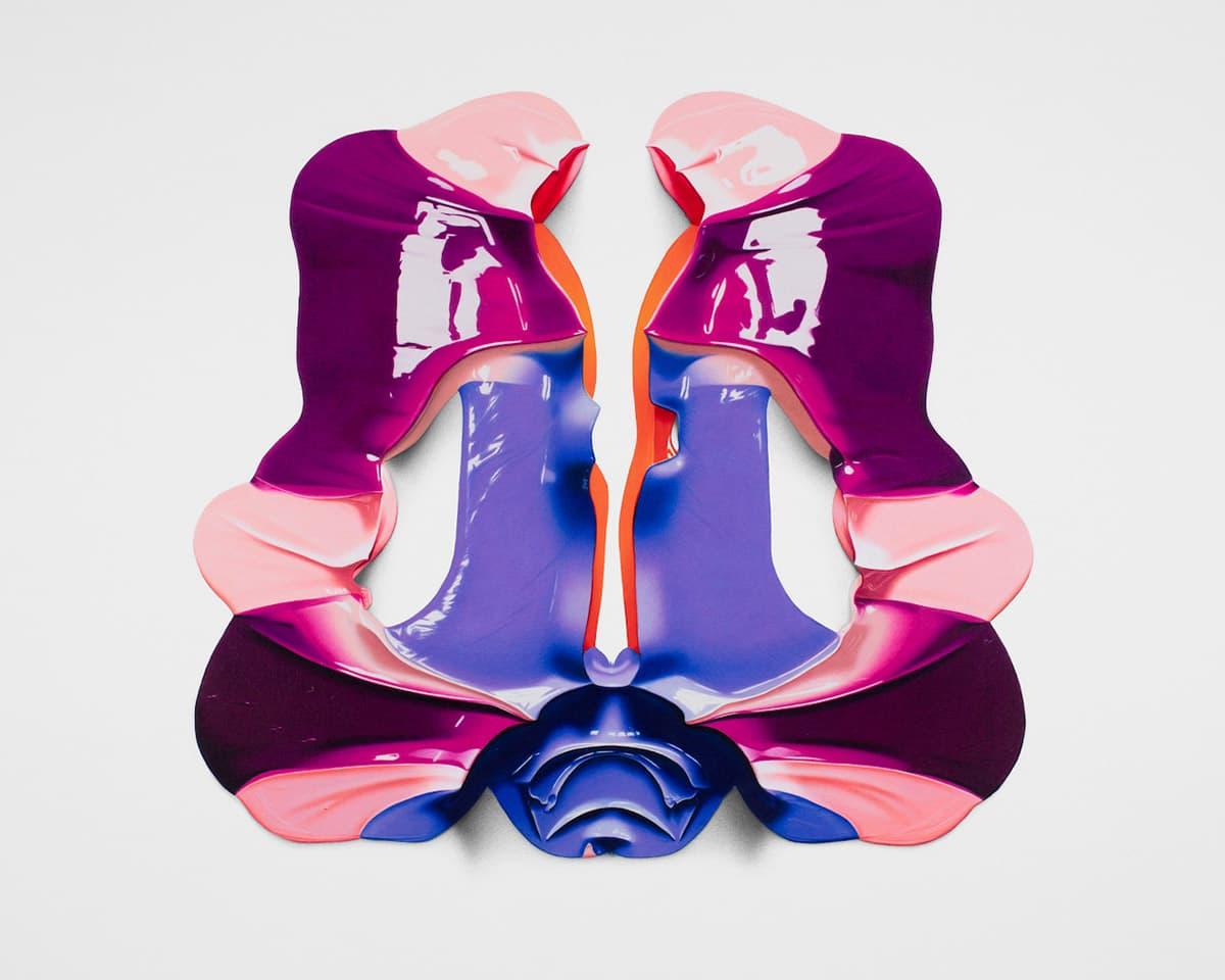 Cj Hendry Rorschach Farbstiftzeichnungen