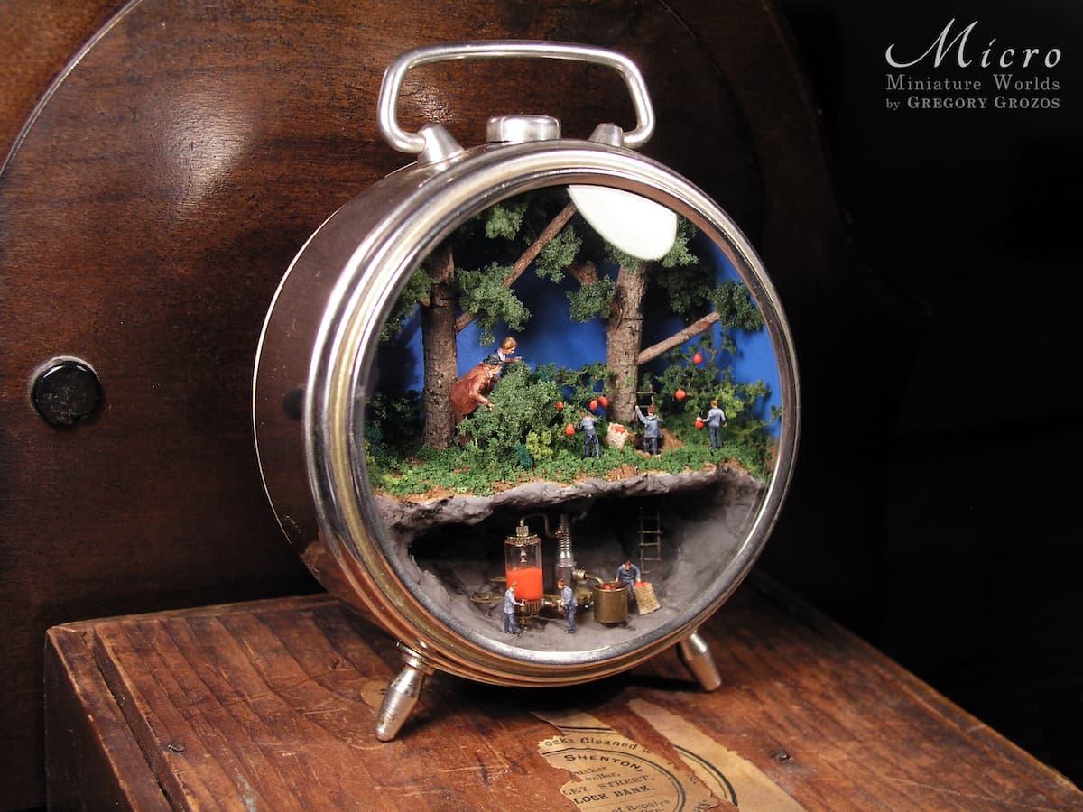 Gregory Grozos Miniaturwelten Design