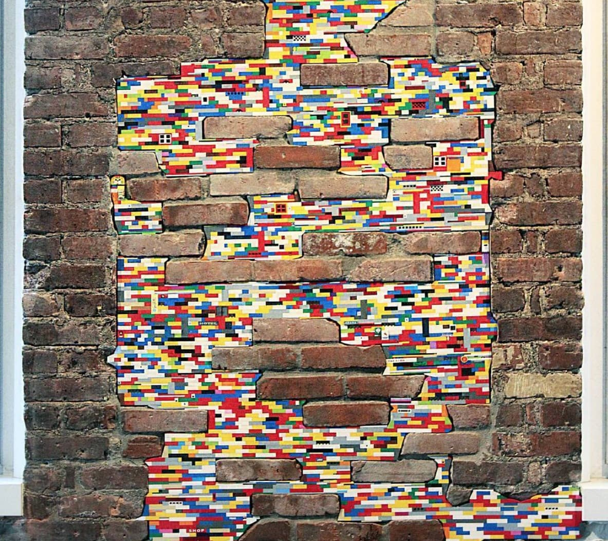 Jan Vormann Dispatchwork Lego Street Art