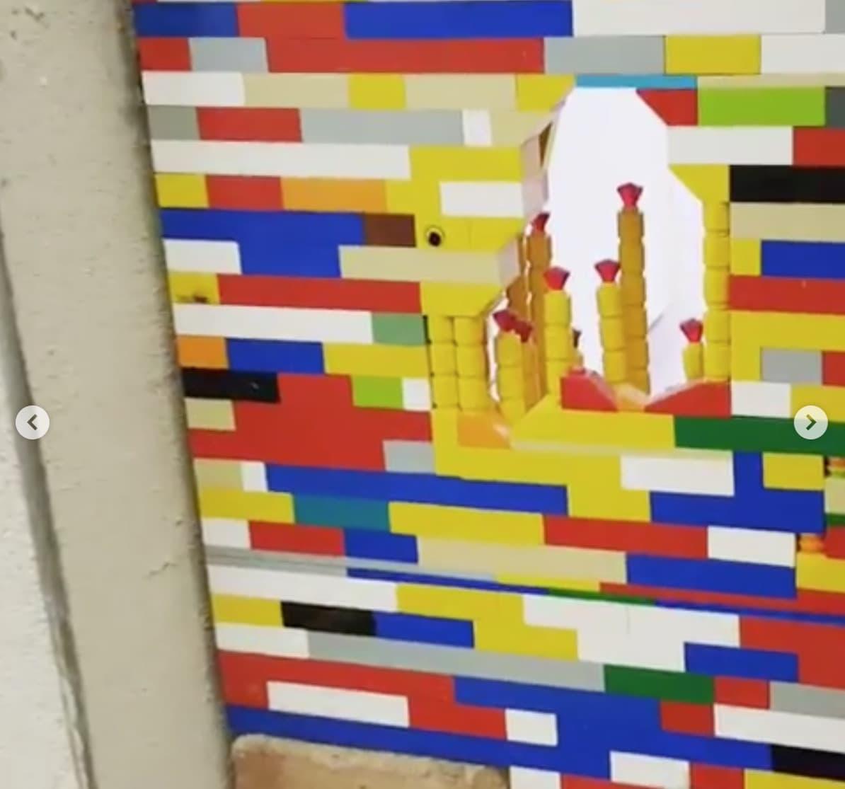 Jan Vormann Dispatchwork Lego Street Art