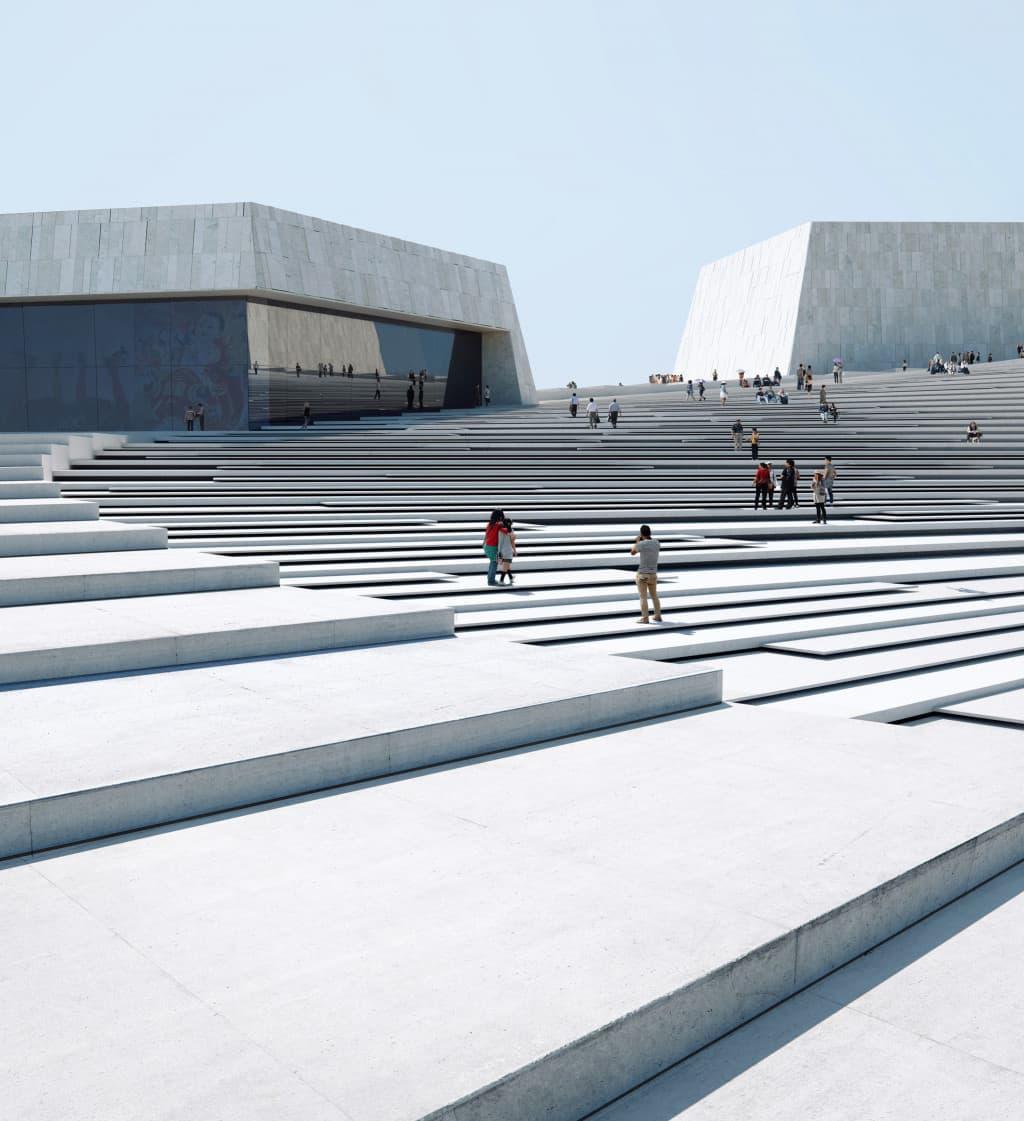 Entwurf für die Shanghai Grand Opera