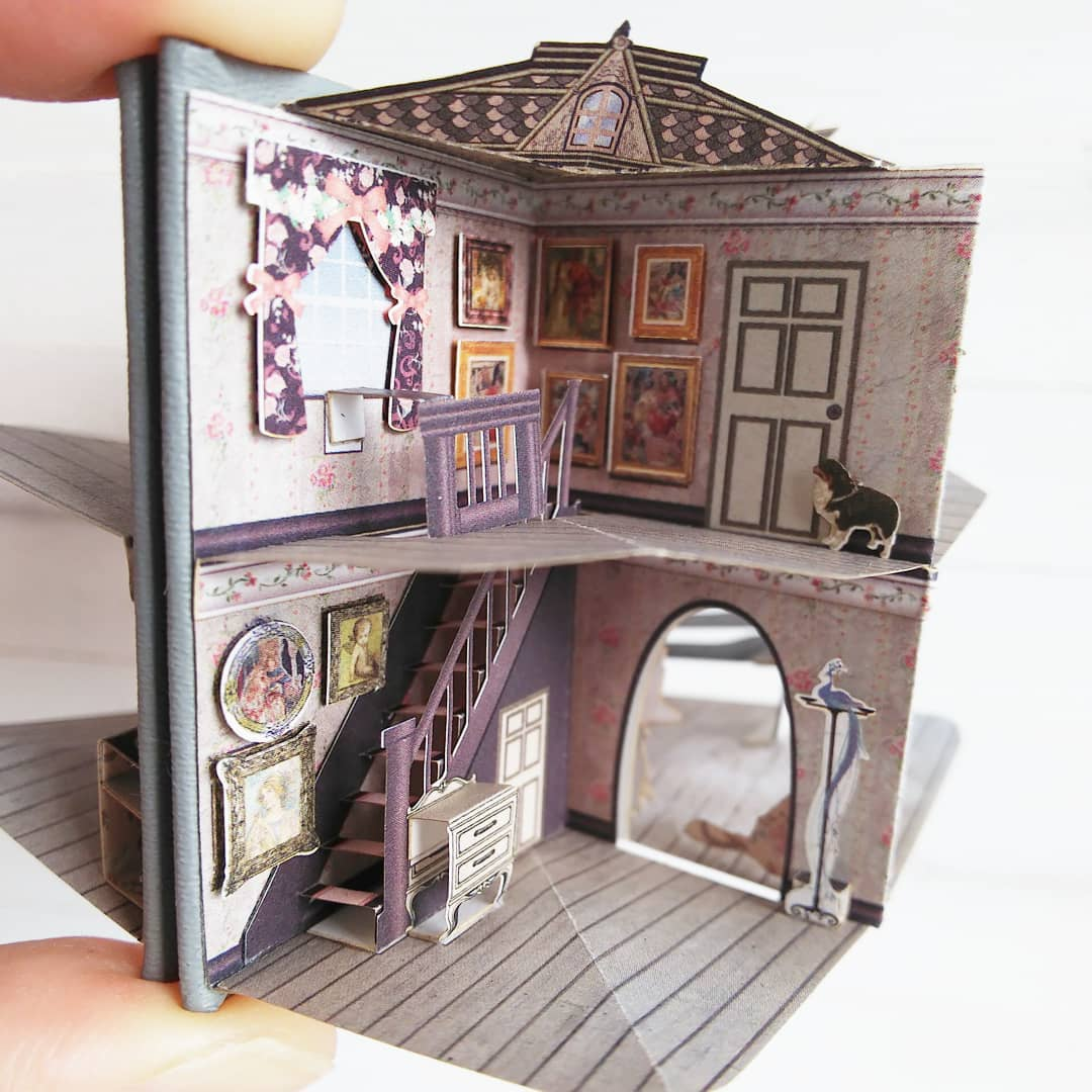 Miniatur-Pop-Up House von Zhihui