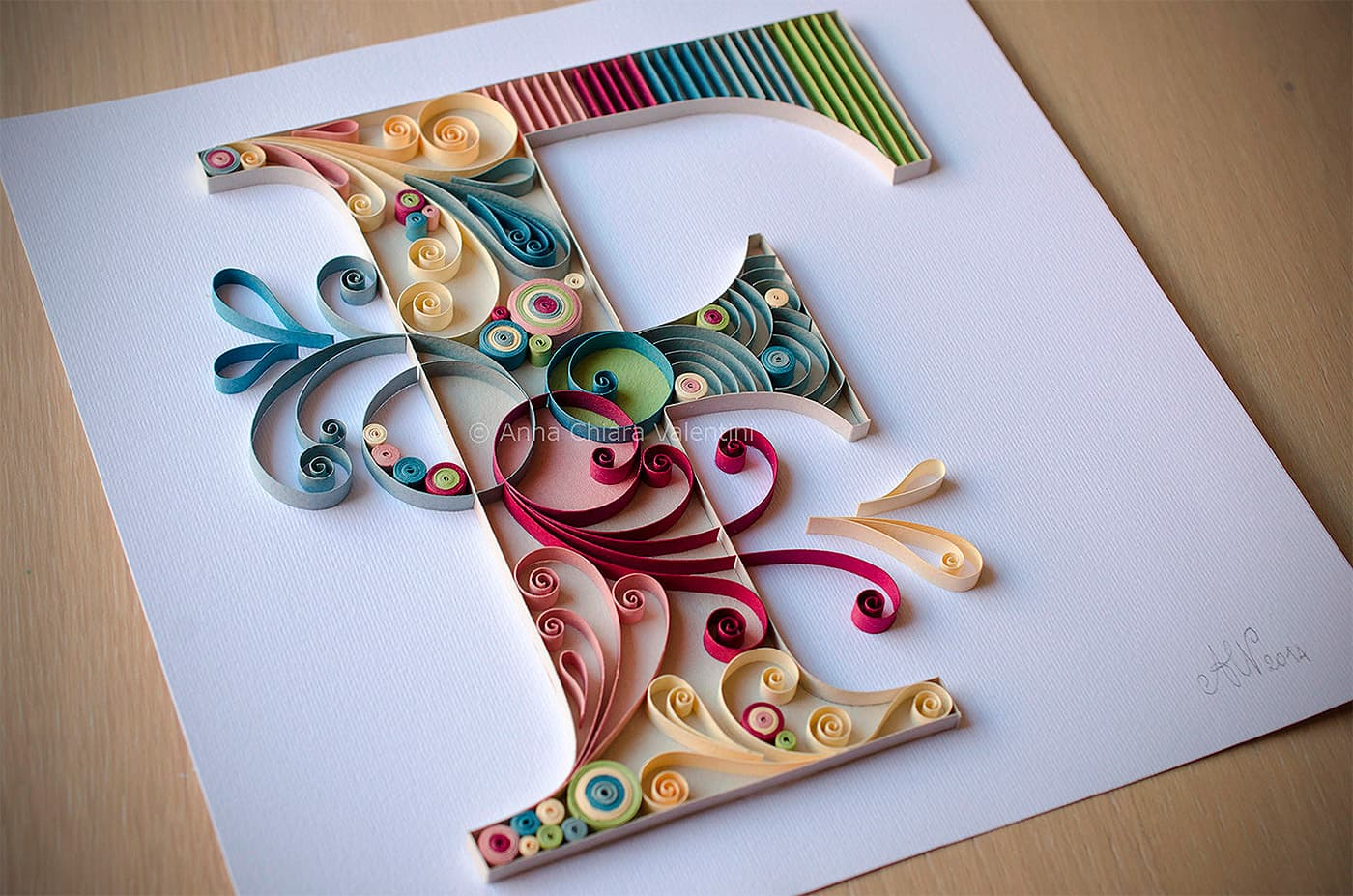 Papierkunst von Anna Chiara Valentini