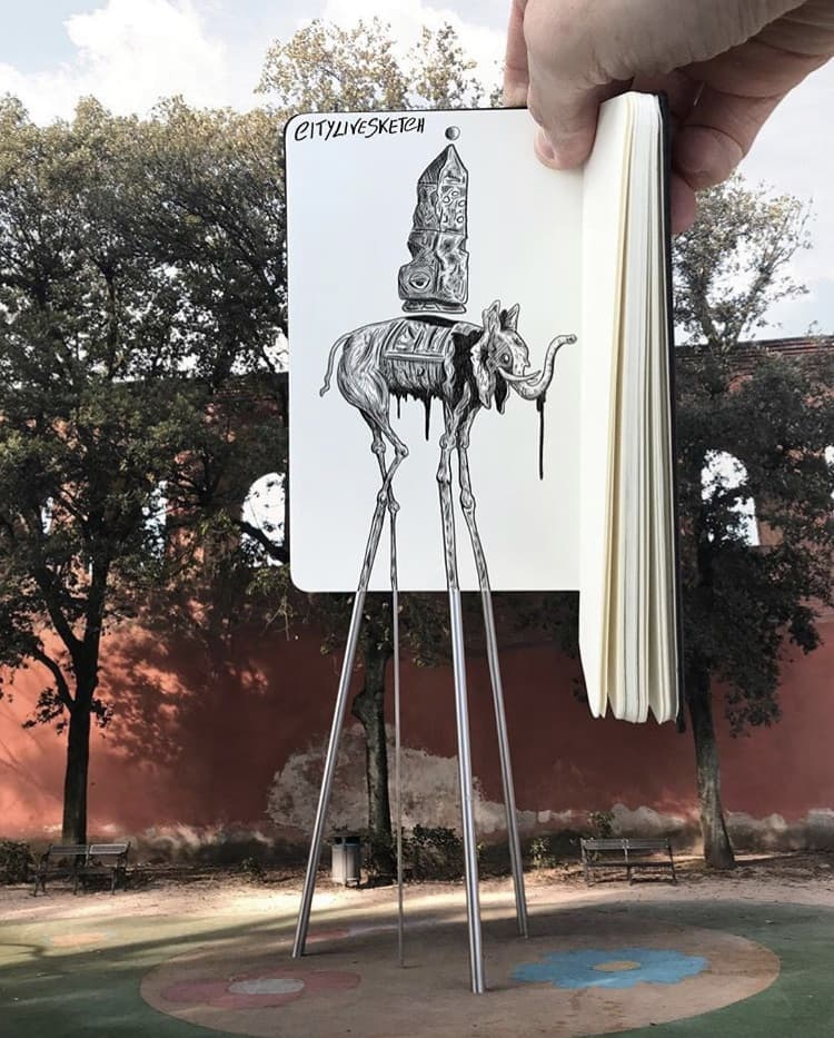 CityLifeSketches von Pietro Cataudella