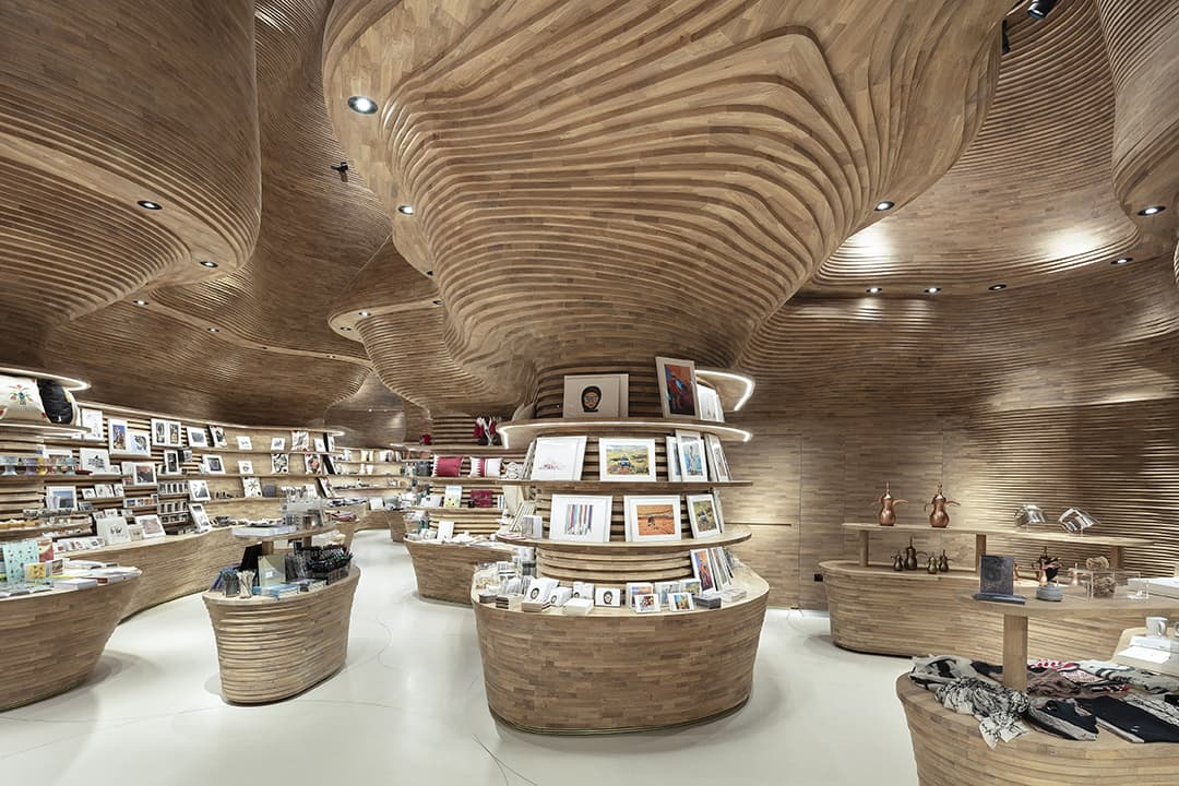 Koichi Takada - Museumsshop des Nationalmuseums Katar