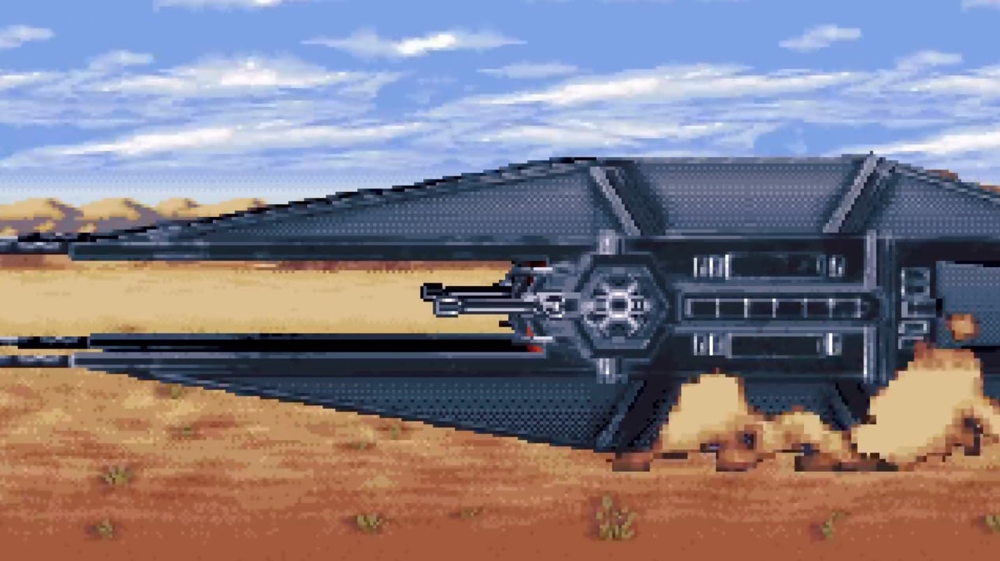 Star Wars Rise Of Skywalker 16-Bit Trailer