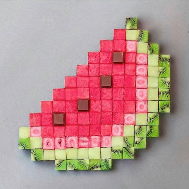 Pixel Food Photography von JOSE