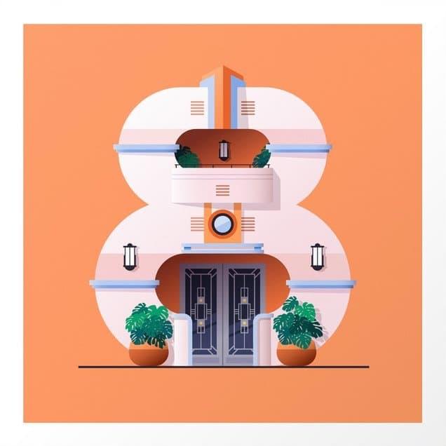 Jonathan Ramirez My Fancy Fox Typografie und Architektur