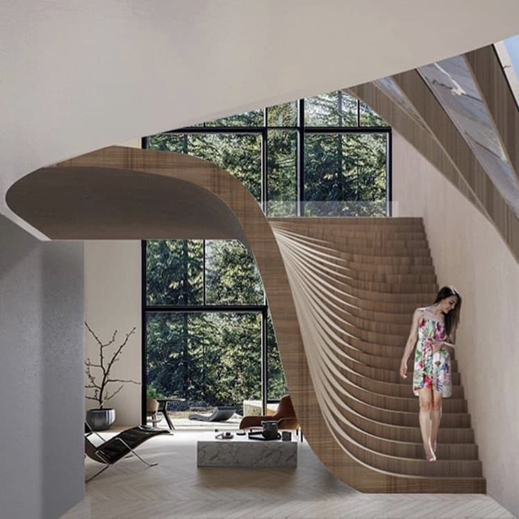 Dynamic Living Space von Wafai Architecture, Italien